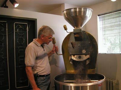 Coffee Roasting at Talk N Coffee
